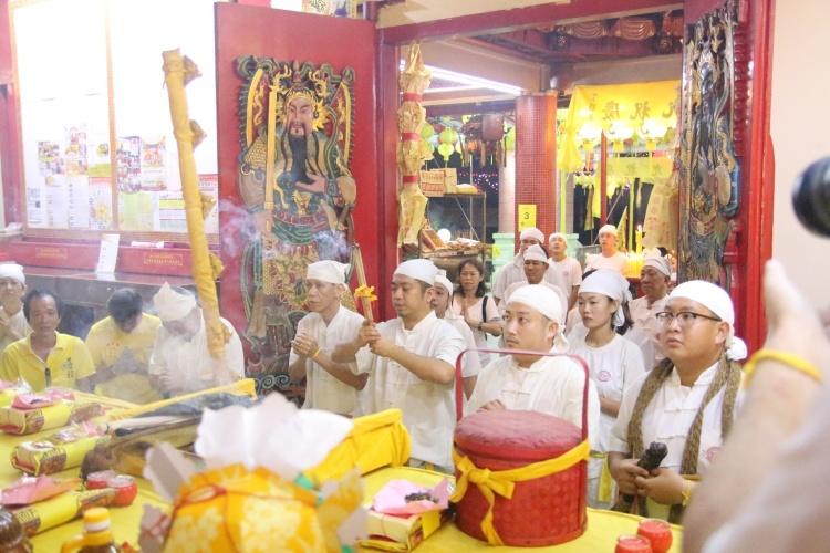 Shen Xian Gong's visit to Jing Shui Gang.