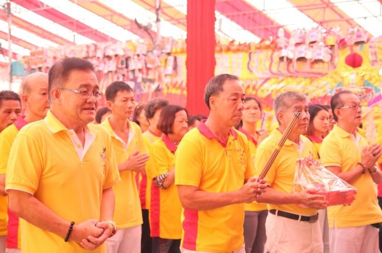 Visit from members of Jing Shui Gang (汫水港).